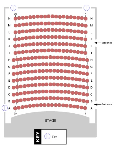 Kings Playhouse Seating Chart
